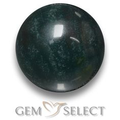 GemSelect features this natural untreated Bloodstone from Madagascar. This Green Bloodstone weighs 8.8ct and measures 12.6mm in size. More Round Cabochon Bloodstone is available on gemselect.com #birthstones #healing #jewelrystone #loosegemstones #buygems #gemstonelover #naturalgemstone #coloredgemstones #gemstones #gem #gems #gemselect #sale #shopping #gemshopping #naturalbloodstone #bloodstone #greenbloodstone #roundgem #roundgems #greengem #green
