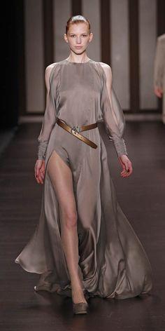 Wang Yutao Autumn Winter 2012-13 women's collection @ Mercedes-Benz Fashion Week Berlin.