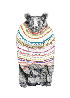 Woolley Bear Print!