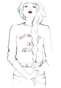 Illustration by: Garance Dore