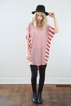 The Ute Striped Blouse
