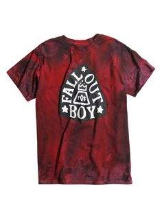 Shop for the latest band merch, pop culture merchandise, gifts & collectibles at Hot Topic! From band merch to tees, figures & more, Hot Topic is your one-stop-shop for must-have music & pop culture-inspired merch. Fall Out Boy Shirts, Future Clothes, Band Merch, Band Tees, Tie Dye T Shirts, Red Shirt, Cool Tees, Mens Tops, Hot Topic