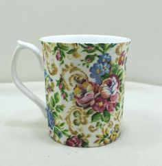 Floral Elizabethan Tea cup Fine Bone China, Made In England Bone China, Bones, Tea Cups, England, Mugs, Floral, How To Make, Ebay, Store
