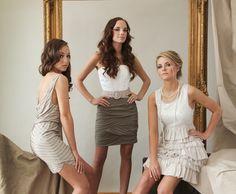 I like the middle dress!!