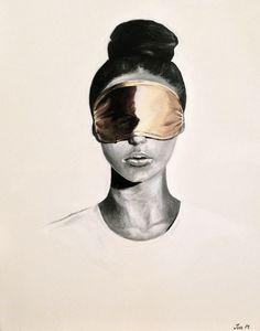Saatchi Online Artist Iva Mara: See No Evil