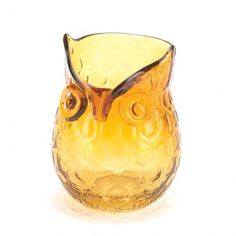 Product: Amber Pop Owl Vase;Price: 14.95(11.8% Off);Date: 4/22/2015 12:00:00 AM