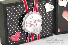 Stampin' Up! Demonstrator Pootles - UK Valentine's Envelope Punch Board Box Tutorial Ooooo yay! It's an Envelope Punch Board Project! I haven't made one of