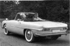 OG   Wartburg 313-2 Cabriolet   Prototype from 1961