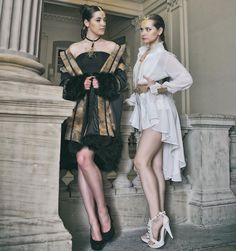 Collection Couture Adeline Ziliox #Designer #Couture #HauteCouture #Designer #Models #Black #White #Feather #Plumes #Paris # Strasbourg #Fashion #Mode #Création