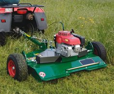 atv implements - Google Search Homemade Trailer, Honda Pioneer 1000, Landscaping Equipment, Diy Go Kart, Atv Trailers, Amphibious Vehicle, Tractor Implements, Tractor Attachments, Compact Tractors