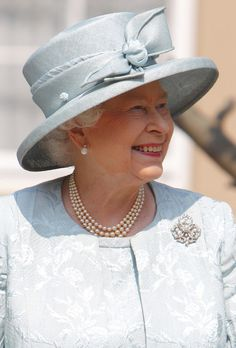 Queen Elizabeth at the annual Easter service in St George's Chapel at Windsor in April 2011