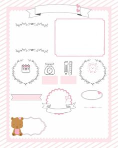 Ilaria e Alessia New Born Baby Card, Baby Born, Clipart Baby, Baby Design, Baby Motiv, Baby Record Book, Birth Announcement Template, Baby Posters, Baby Frame