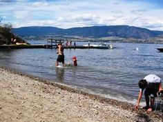 Bertram Beach - a nice site for Swimming, Hiking, Boating, etc.
