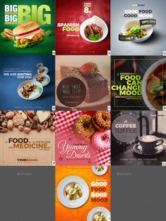 Food Web Design, Food Graphic Design, Food Poster Design, Banner Design Inspiration, Food Inspiration, Social Media Banner, Social Media Design, Instagram Design, Food Instagram