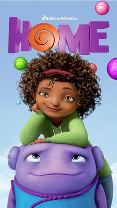 DreamWorks Animations  Animated Movie HOME Reveals HOME: Boov Pop! Mobile Game App