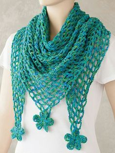 Shawl Crochet Patterns Part 15 – Beautiful Crochet Patterns and Knitting Patterns - Kleidung Beau Crochet, Knit Or Crochet, Crochet Scarves, Crochet Crafts, Crochet Clothes, Shawl Crochet, Crochet Motifs, Crochet Stitches, Knitting Patterns