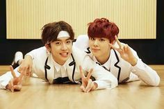 Xiao and Wooshin UP10TION