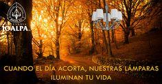 Aquellos que en otoño se deprimen es por falta de luz, cuando el día acorta, nuestras lámparas iluminan tu vida. ¿Te gusta la luz? - te gusta Joalpa.  Those who get depressed in Autum is because the lack of light. When the day shoterns, our lamps light your life. Do you like light? You like Joalpa. #MeGustaJoalpa