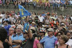 Miles de personas llenaron Arriondas y Ribadesella en la fiesta de las piragüas