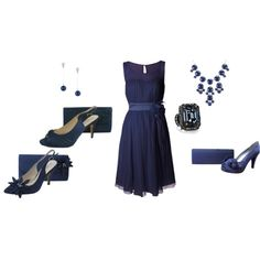 Navy Wedding Theme by sole-divas on Polyvore featuring Lanvin and Betty Jackson