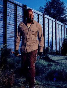 dailytwdcast: New 'The Walking Dead' Season 6 Character Portrait of Lennie James as Morgan Jones Walking Dead Morgan, Walking Dead Girl, Walking Dead Actors, Walking Dead Season 6, Walking Dead Tv Series, Walking Dead Cast, Fear The Walking Dead, Top Tv Shows, Best Tv Shows