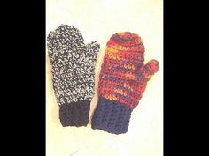 How to crochet mittens