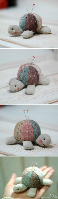 Черепаха, игольница