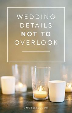 Important wedding details not to overlook, with @mmdweddingplans #tabletop #weddingdetails