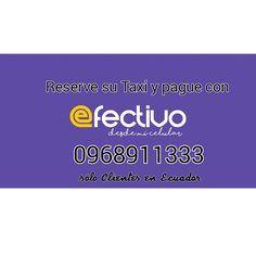 En Ecuador para nuestros clientes , pueden pagar sus reservas desde el celular !   Más fácil....más cerca de uds.
