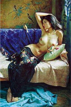 Xolst.blogspot.com: Guan ZeJu / 1941 / Chinese painter