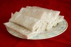 Putharekulu, a popular sweet that originates from the Godavari area.