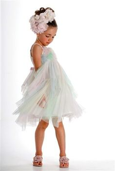 Girls Color Me Pretty Dress 4 to 12 Years Now in Stock