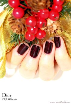 Dior Golden Winter collection (Holiday 2013)   Nailderella