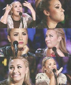Crazy demi faces only lovatics understand