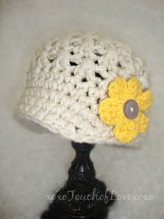 News Boy hat with 4 Replaceable flowers any by xoxoTouchOfLovexoxo
