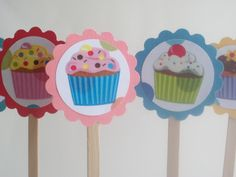 cupcake toppers | ... further ado the cutest cupcake toppers EVER...(drum roll please