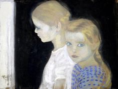 Due Bambine (Two Girls), Felice Casorati