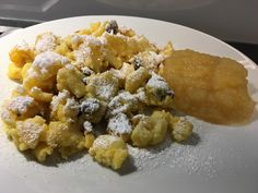 Kaiserschmarrn, a sophisticated recipe from the dessert category. Potato Salad, Waffles, Pancakes, Cravings, Bakery, Deserts, Food And Drink, Sweets, Snacks