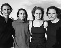 1998, Falmouth, Mass. The Brown Sisters: Forty Portraits in Forty Years. Photographed by Nicolas Nixon. Fraenkel Gallery and Pace MacGill Gallery, New York.
