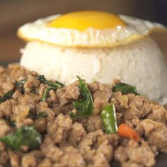 One of the most favorite dishes in Thailand, Thai basil chicken, better known in Thai as Pad Kra Pao.