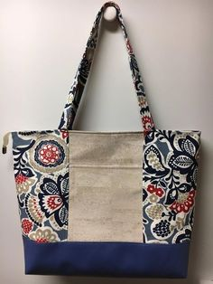 This is a nice basic pattern for beginners or even advanced bag makers. I have two sizes. The full size Hapai (beach bag size) and the Mini (handbag size) Embe crafts canvas, Hapai Tote PDF Pattern Cork Fabric, Fabric Bags, Bag Patterns To Sew, Tote Pattern, Pattern Fabric, Mini Handbags, Patchwork Bags, Bag Making, Fabric Crafts