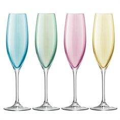 Pastel Flutes  Perfect for a #SorbetLight #cocktail #SmirnoffContestEntry