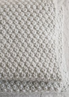 Baby blanket from lovely Purl Soho - free Pattern at Ravelry