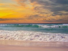 For me, Navarre Beach holds memories that will not fade. This image captures a perfect sunset. It is just right to brighten the interior of a hotel, resort or spa. Or, any interior space!