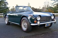 Vintage Cars Bid for the chance to own a 1968 Triumph w/ Overdrive at auction with Bring a Trailer, the home of the best vintage and classic cars online. New Sports Cars, British Sports Cars, Rims For Cars, Hot Cars, Vintage Cars, Antique Cars, Vintage Ideas, Triumph Tr3, Chevy Classic