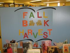 Fall Book Harvest: The leaves were cut from pages of withdrawn books.