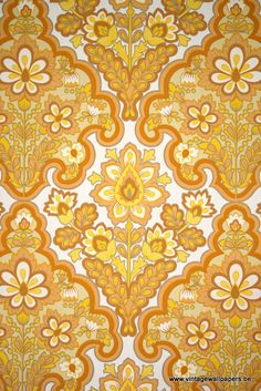 Modern Baroque Style Wallpaper