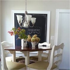 Our new breakfast nook :)