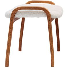 Swedese Lamino footstool (2.591.890 COP) ❤ liked on Polyvore featuring home, furniture, ottomans, contemporary furniture, white ottoman, contemporary ottoman, white contemporary furniture and modern contemporary furniture