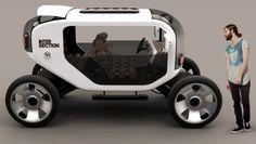 ESCALE, Electric Vehicle, Samuel Aguiar, car, future, futurism, futuristic, concept by FuturisticNews.com